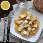 Una receta ligera para este viernes que entra fenomenal: sepia al horno con patatas. #directoalpaladar #receta#recipe #gastro#foodie #comida #foodlover#cooking #food#cena