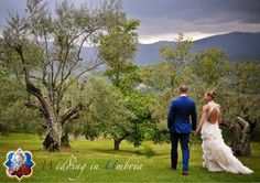 Outdoor wedding in Umbria, green heart of Italy #Wedding #Matrimonio #Umbria #Perugia