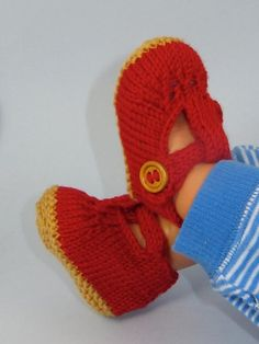 1000+ images about Madmonkeyknits Baby Shoes and Booties knitting patterns on...