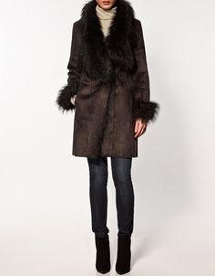 Cappotto peloso di Zara