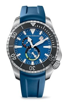 Girad Perregaux Seahawk Big Blue Dive Watch