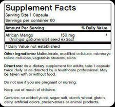 If you are looking for highest quality, 100% pure african mango extract you should look no further