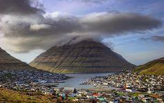 Klaksvik, Faroe Islands.