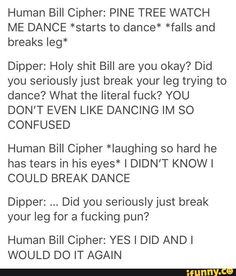 I guess pain is still hilarious to Bill
