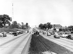 Baltimore in the 1960s | ... 1953  Route 40 at its intersection with Ingleside Avenue west of Baltimore, MD.  Wouldn't recognize it