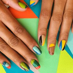 20 Cool Summer Nail Art Designs - Easy Summer Manicure Ideas