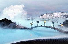 Blue Lagoon Geothermal Resort in Grindavík, Iceland