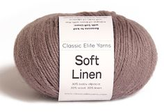35% Linen, 35% Wool, 30% Baby Alpaca; hand wash cold, dry flat; dk; 50 grams 137 yards