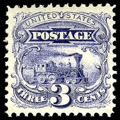 US stamps 1869. # 114