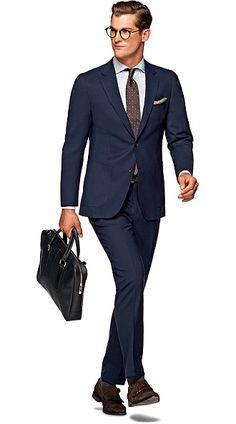 Suit_Navy_Plain_Havana_C4760