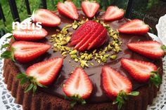 No Bake Desserts, Acai Bowl, Waffles, Cheesecake, Lunch Box, Strawberry, Food And Drink, Pie, Sweets