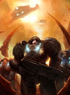 StarCraft 2: All-In by ~TheChaoticKnight on deviantART