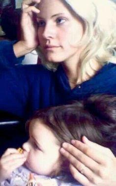 Lana Del Rey babysitting #LDR #Lizzy_Grant
