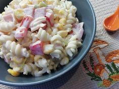 Pasta Salad, Ethnic Recipes, Food, Diet, Essen, Crab Pasta Salad, Noodle Salads, Yemek, Meals