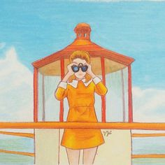 Moonrise Kingdom, Illustrations by Yeonju-kim