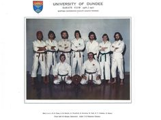 Scottish Universities Karate League Winner 1976/7 - where are they now? Join our 50 years of Sport Reunion Day Sat 1st April 2017 https://business.facebook.com/events/204143363392103/ #dundeeuni50