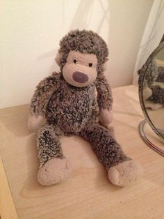 LOST in LONDON  Lost jelly cat monkey on the London bridge to Westminster underground train 24 January. Have you seen him? Contact: https://www.facebook.com/charlotte.connor1 or https://www.facebook.com/TeddyBearLostAndFound