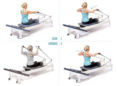 These 3 mini routines on the Reformer will help you recover from an aching back, shoulder or knee. Workout by Samantha Wood