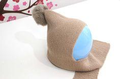DIY Cómo hacer gorro de lana con bufanda (talla 6 a 18 meses) | | Oh, Mother Mine DIY!!