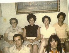 Paternal side.  Big Mama Gibson, Grandma, grt Aunts, and grt Uncle. The women were so tall and exotic looking. Could have been models in their younger years.,