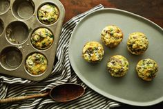 Frittata Muffin recipe for any grain from #SimplyAncientGrains.