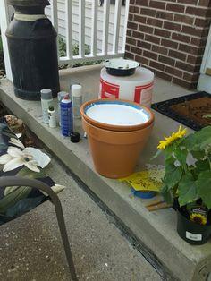 Begin with plain pot