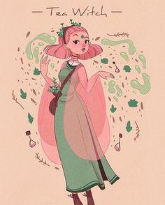 Tea witch? Bet she makes awesome tea.