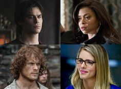 Best. Ever. TV. Awards 2015 Officially Begin: Vote for the Best Actor and Actress in a Drama Now!  Sam Heughan, Emily Bett Rickards, Ian Somerhalder, Taraji P Henson