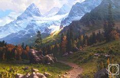 Фёдоров Михаил. Осень в горах