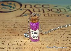 True Love Potion and a Heart Charm Once Upon a Time di FandomMagic, $16.00