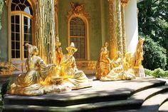 China Haus im Park von Schloss Sanssouci