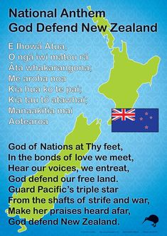 An sized chart showing our New Zealand National Anthem in English and Maori. Good chart to display in school halls Hawaiian Tribal Tattoos, Samoan Tribal Tattoos, Maori Tattoos, Maori Songs, Anthem Lyrics, Maori Patterns, Culture Quotes, Cross Tattoo For Men, Nordic Tattoo