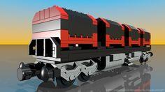 Lego 4512: Cargo Train - Customized by Davide Solurghi (Morpheus)