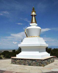 A stupa in Crestone.