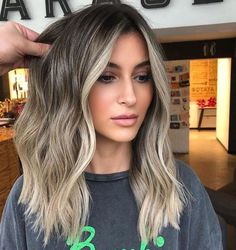 62 best of balayage shadow root babylights hair colors for 2019 42 » Welcomemyblog.com