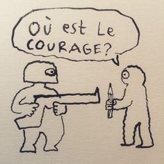 Charlie Hebdo - Dessins hommages à Charlie Hebdo - Joann Sfar