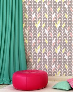 Decorative Scandinavian Stencil patterns, DIY projects, Decorative Wallpaper look and easy Home Decor. Scandinavian design means quality by all means.