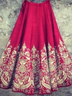 Designer Peach blouse with pink base raw silk lehenga Its specially designed for the bridal. Indian Wedding Outfits, Bridal Outfits, Indian Outfits, Bridal Dresses, Raw Silk Lehenga, Red Lehenga, Lehenga Choli, Floral Lehenga, Lehenga Wedding