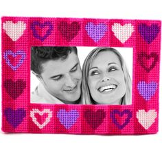 Plastic canvas kit - It's all about love.