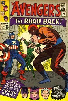 Los Vengadores 22. Por Jack Kirby y Wally Wood. #JackKirby #LosVengadores #TheAvengers
