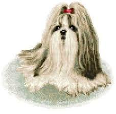 Resultado de imagem para dogs cross stitch patterns free