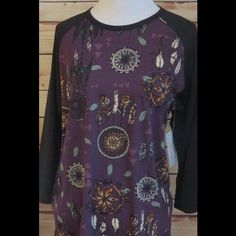 LuLaRoe Tops - LulaRoe NWT rare dream catcher Large shirt