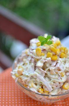 Salad Menu, Salad Dishes, Easy Salad Recipes, Easy Salads, Crab Stuffed Avocado, Light Summer Dinners, Cottage Cheese Salad, Cold Pasta, Seafood Salad