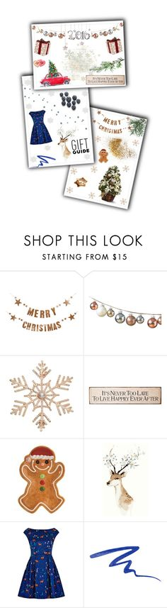 """GIFT GUIDE ❄️💫❄️"" by w-wildroses-s ❤ liked on Polyvore featuring Bloomingville, John Lewis, Fitz & Floyd, Louche and Urban Decay"