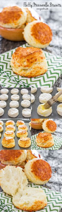 Fluffy Mozzarella Biscuits – buttery, cheesy, flaky layers make for the perfect biscuit. Gigantic biscuits so delicious full of buttery…