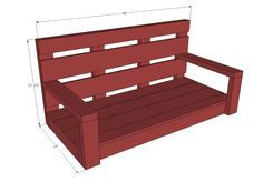 Ana White   Build a Shanty2Chic Porch Swing   Free and Easy DIY Project and Furniture Plans