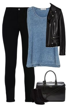 """Sem título #8029"" by fanny483 ❤ liked on Polyvore featuring STELLA McCARTNEY, rag & bone, Yves Saint Laurent and Billini"