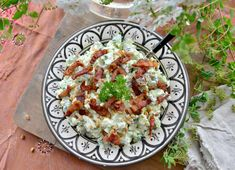 Pasta Salad, Tapas, Bacon, Ethnic Recipes, Food, Meal, Essen, Cold Noodle Salads, Hoods