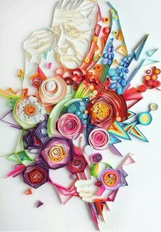 Beautiful art of quilling