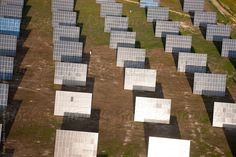 Aerial view of solar panels Huelva Province, Spain by padamsphoto | Stocksy United